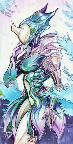 Steelsuit — Warframe doodles/lines and a marker coloured. Steelsuit — Warframe doodles/lines and a marker coloured. Female Character Design, Character Design References, Character Concept, Character Art, Concept Art, Warframe Wallpaper, Warframe Art, Warframe Prime, Arte Robot