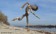 Driftwood art in Hungary by tamas kanya by tom-tom1969.deviantart.com on @DeviantArt
