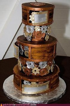 @Natalie Brown    Is this your wedding cake?