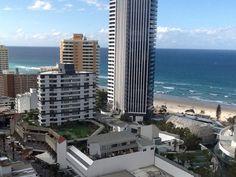 A glimpse of Surfers Paradise, gorgeous Gold Coast beach. Queensland Australia