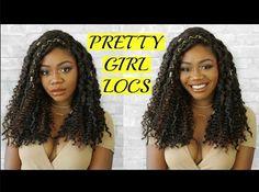 Curly Bohemian Goddess Faux Locs Step by Step Tutorial | DIY Faux Locs | Crochet + JNM Individuals Jazz Nicole  Jazz Nicole