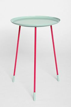 Use Table in Lyla's Room for legs - Replace with vintage tray and spray paint.