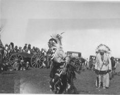 Blackfoot (Kainai) dancers - 1928
