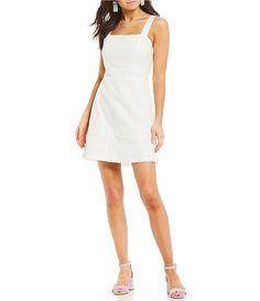047b0a0373e Copper Key Lace Inset A-Line Dress