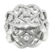 8fe34b34e7a 14K Gold I1 G Huge Real 3.85TCW Diamond Eternity Ring Engagement Band Prong  Set