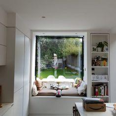 Frameless Glass Window Seats and Vertical Frameless Glass Windows · 1st Folding Sliding Doors