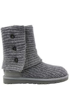 I want these! Ugg Classic Cardy Grey Boots I want this style.... Don't you dare spend $100 on shoes!