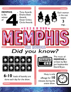 Some fantastical facts about @Memphis On Broadway. Hockadoo!