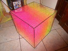 Objeto Semico (String Art Cube) by ~klsyvtri on deviantART