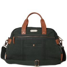 Fred Perry Washed Cotton Holdall Bag