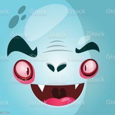 Cartoon vampire face. Halloween vector illustration - Векторная графика Аватарка роялти-фри Vampire Cartoon, Halloween Vector, Illustration, Sonic The Hedgehog, Cartoons, Face, Fictional Characters, Cartoon, Cartoon Movies