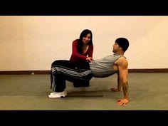 Upper Body Pilates Exercise