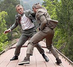 Daniel Craig and Ola Rapace