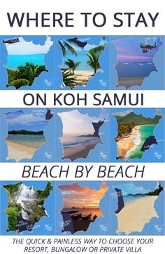 25 Most Popular Thailand Travel Pins @kohsamuiguide Where to Stay on Koh Samui? #thailand #samui http://www.kohsamuisunset.com/where-to-stay-koh-samui/