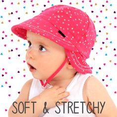 Super cute Legionnaire is a perfect sun hat for baby girls on a hot summers day. #kidssunhat #kidshats #babygirl