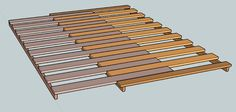 Pull-out Daybed components.from step 5 More - InstaoPin Diy Daybed, Diy Sofa, Sofa Bed, Pallet Furniture, Furniture Projects, Pull Out Daybed, Dresser Plans, Do It Yourself Furniture, Bed Slats