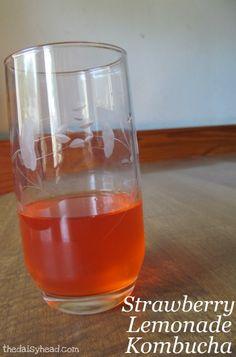 Strawberry Lemonade Kombucha Recipe