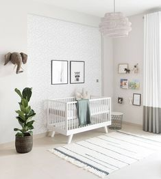 "318 Likes, 35 Comments - Kathryn | HOUSE of HAWKES (@houseofhawkes) on Instagram: ""There's nothing like a brand new nursery awaiting the arrival of it's tiny new occupant. Don't miss…"""