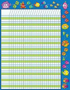 Colorful Fishies Charts