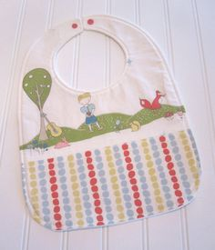 SWEET NATURALS/Organic Line/Toddler Bib/12--24 mo./Storyboek Two