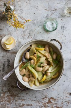 Giant Lemon Fennel Beans | 30 Delicious Things To Cook In April