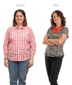 So inspiring! Kimberly Cluff lost 38 lbs during the competition. Since the end of the competition, she lost a total of  56 lbs!