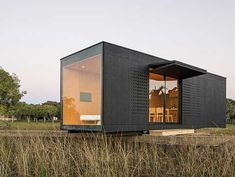 Mix and match: MINIMOD House by MAPA in Rio Grande do Sul, Brasil, showcases this prefab, steel-framed 27sqm modular system that can be configured for anything from an event space to a standalone tiny home, or combined, two or more, to meet any building needs.