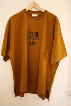 true vintage adidas trefoil T-Shirt 80's 90 by AllesWasWirLieben