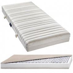 Punktelastisches Liegen mit guter Durchlüftung – mit der Billerbeck Taschenfederkernmatratze Basic AIRTEC Schaum, Towel, Mattresses, Pool Chairs, Luxury, Towels