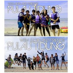 Pulau Tidung with Anin and Julian Friends - ngacirfuntravel.com =Be Fun Be Happy With Us=