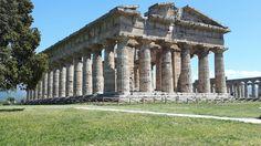 Tempio di Nettuno, o Hera, o Zeus o di Apollo.  450 a.C. circa. Paestum.