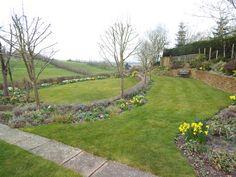 Lawncare treatments, Priors Marston, Warwickshire Lawn Care, Sidewalk, Green, Lawn Maintenance, Side Walkway, Walkway, Walkways, Pavement