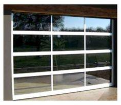 Glass Garage Door : Full View Aluminum & Clear from ETOgaragedoors.com
