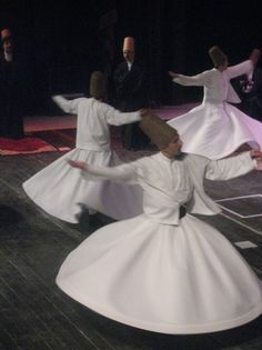 Whirling Dervishes of Istanbul, Turkey