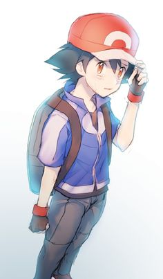 Ash/Satoshi. I like him. I think comparing him to Red (another favourite PKMN trainer of mine) is stupid. They might be from the same franchise, but the universes they live is different. I also like to think that Satoshi represents us, in a adventure- loving kind of way. Who doesn't want to go out on a breath-taking adventure? So what if he didn't got all the 151 original pokémon, like Red did? In my point of view, when the anime reach it's end, Satoshi will realize that he didn't went out…