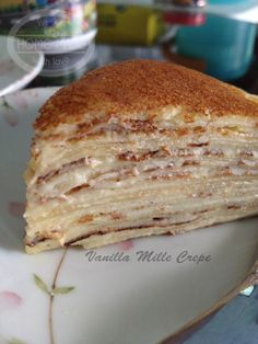 Vanilla Mille Crepe