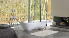 A bathtub with supreme comfort delivering exquisite 'art gallery' styling - a glamorous centerpiece for your bathroom.  #30daysofBathtubs  #bathtubs #homerenovation #modernhome #interior123 #bathdecor #moderndesign #housedesign #luxury #interiors #interiorinspiration #lifestyle #interiordesign #homegram #instahome #homestyle #interiorwarrior #interior4all #bathroomdecor #bathroomdesign #interiorstyle #livableluxury #currentdesignsituation #designinspiration #homegoals #bathroomgoals