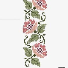 arts and crafts Cross Stitch Bird, Cross Stitch Borders, Cross Stitch Flowers, Cross Stitching, Cross Stitch Embroidery, Hand Embroidery, Cross Stitch Patterns, Border Pattern, Butterfly Flowers