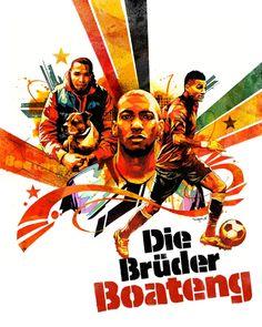 Die Bruder Boateng. by Dragon76