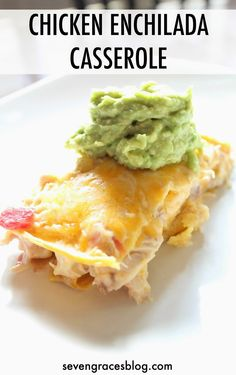 Seven Graces: Currently Confessing | Vol. 32...the One with the Chicken Enchilada Recipe. Easiest Enchilada casserole recipe. Also called King Ranch Chicken.