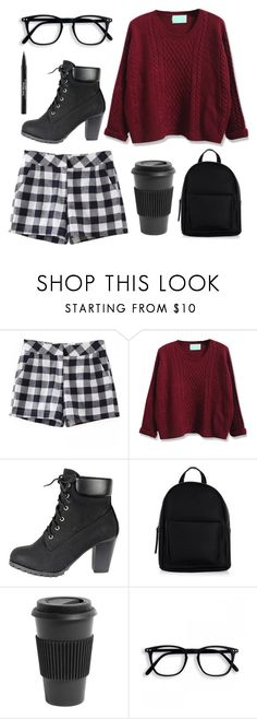 """""""Your shaking shoulders prove that it's colder inside your head than the winter of dead."""" by tiffany-blue-tardis ❤ liked on Polyvore featuring New Look, Homage and Trish McEvoy"""