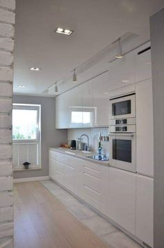Small Kitchen Makeover 20 Small Kitchen Ideas With French Country Style - Trendecora - Small kitchen design ideas should be ways you come up with to save as much space as possible while having […] New Kitchen, Kitchen Dining, Kitchen Decor, Kitchen Cabinets, Kitchen Ideas, Kitchen Small, Awesome Kitchen, Kitchen Island, Space Kitchen