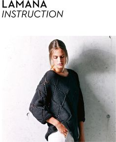 Sweater in Lamana Catalina - 03/03 - Downloadable PDF. Discover more patterns by Lamana at LoveKnitting. The world's largest range of knitting supplies - we stock patterns, yarn, needles and books from all of your favourite brands.