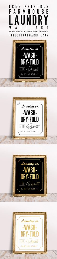 It is once again Friday (Yay) and that means one thing here at The Cottage Market…it is FREE Printable Day! Today we have a little something for a room that you probably don't love spending a lot of time in …but as we all know it's a must! So why not add a little Wall …