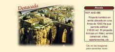AND686 Ronda. Málaga.  Proyecto turístico en venta.