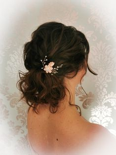 Hairstyling by Christina Gubier Wedding Hairstyles For Medium Hair, Bride Hairstyles, Boho, Medium Hair Styles, Hair And Nails, Redheads, Fashion, Hairstyles For Brides, Red Heads