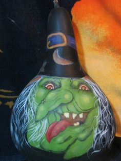 painted+gourds | ... it isn't quite October but had so much fun painting and have to share