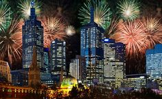 New Years Eve in Melbourne~ Happy 2016 from Australia to all my Pinterest friends!!