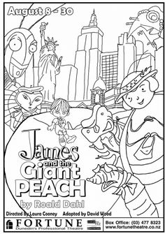 James And The Giant Peach Colouring Pages 278591 Coloring