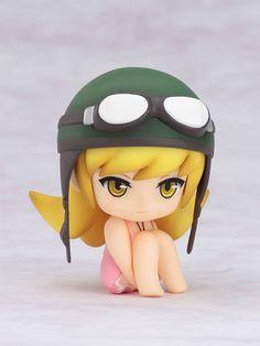"""Shinobu Oshino from Bakemonogatari - the Nendroid. I call her """"The Kid in the Corner""""."""